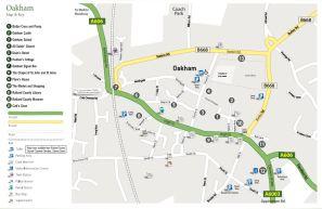 Oakham Map